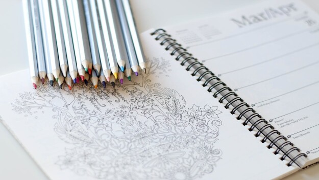 Achieving Mindfulness with Colouring Books
